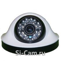 SC-HL203F IR Купольная внутренняя AHD видеокамера