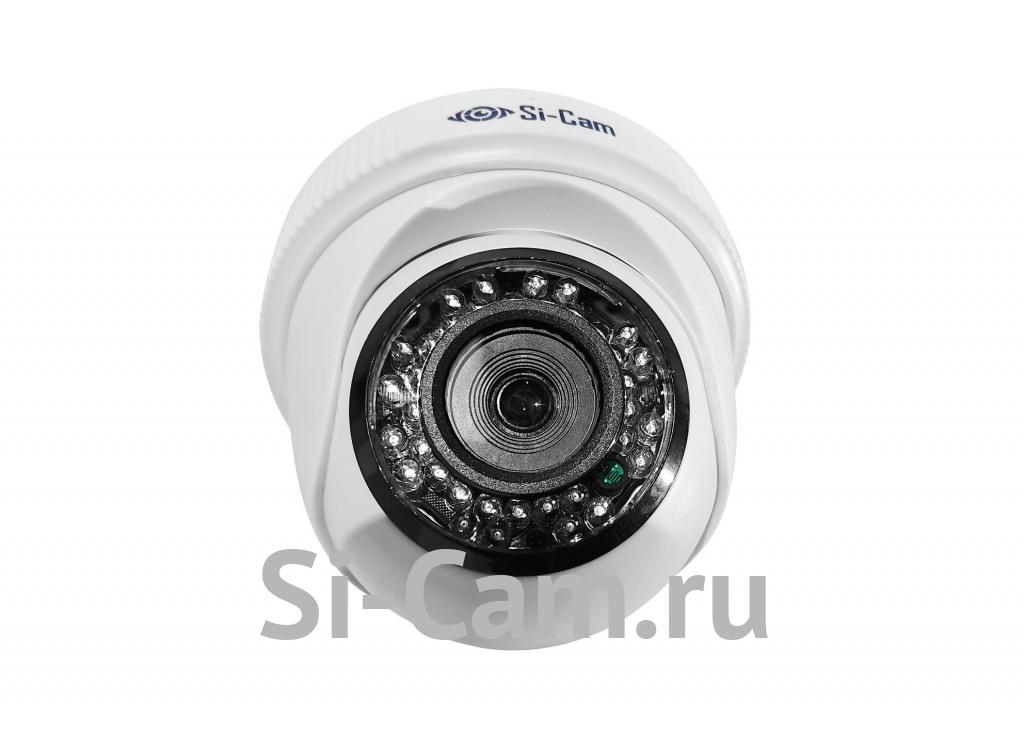 SC-104FMR IR Купольная внутренняя IP видеокамера, ВСЕ ВКЛЮЧЕНО