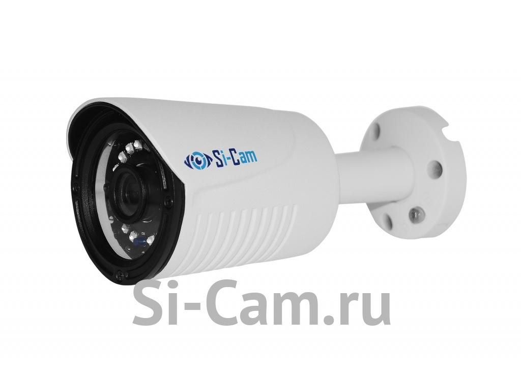 SC-201FM64 IR Цилиндрическая уличная IP видеокамера, ВСЕ ВКЛЮЧЕНО