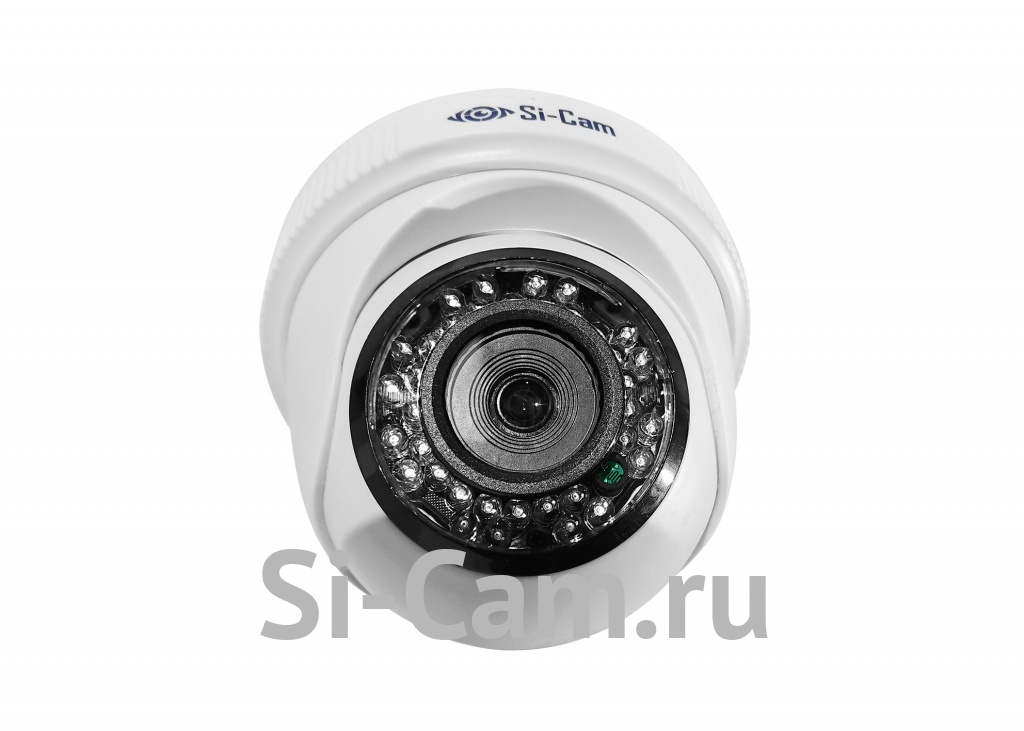SC-204FM128 IR Купольная внутренняя IP видеокамера, ВСЕ ВКЛЮЧЕНО