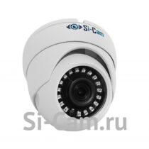 SC-202FM128 IR Купольная уличная антивандальная IP видеокамера