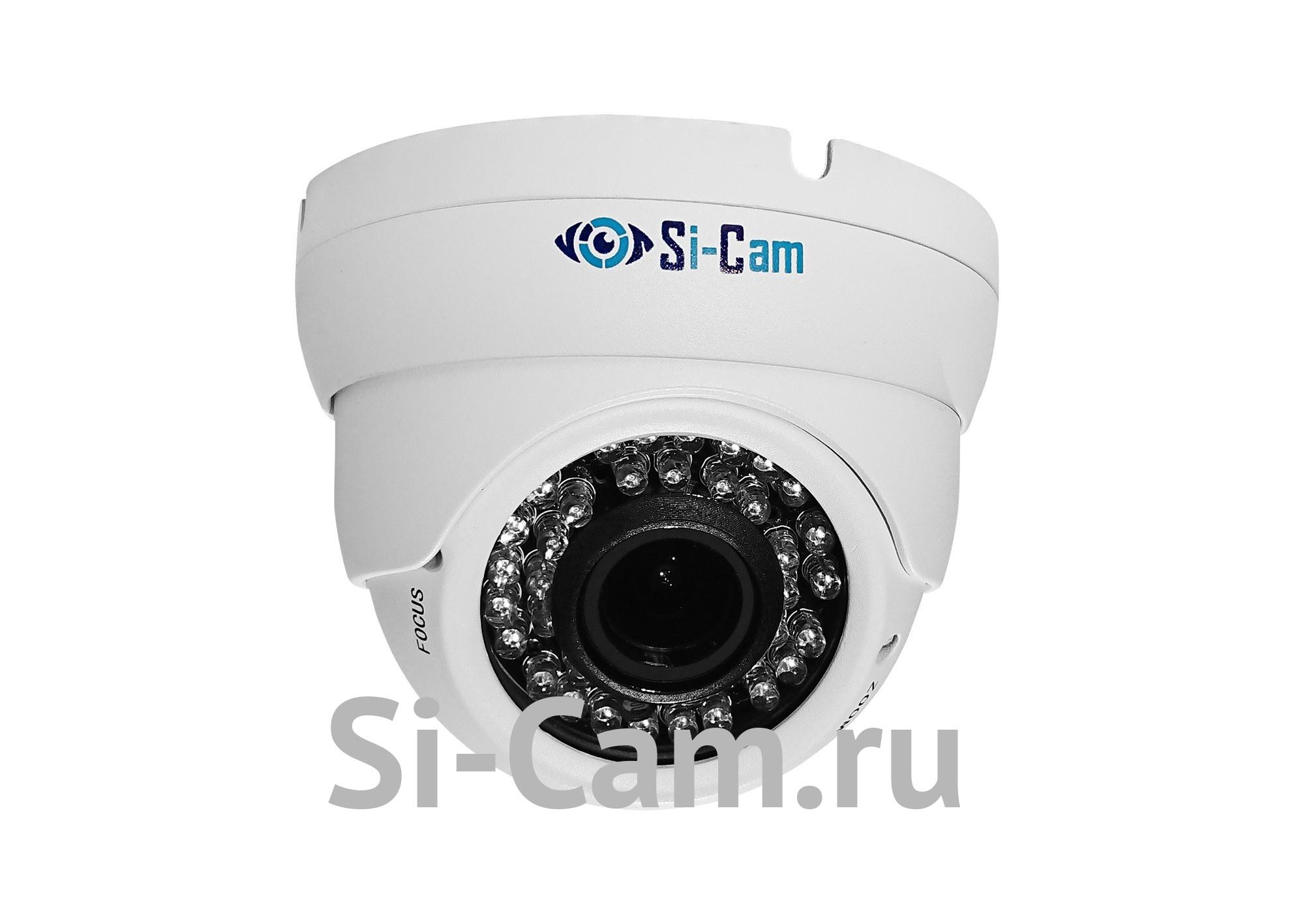 SC-D802V IR Купольная уличная антивандальная IP видеокамера