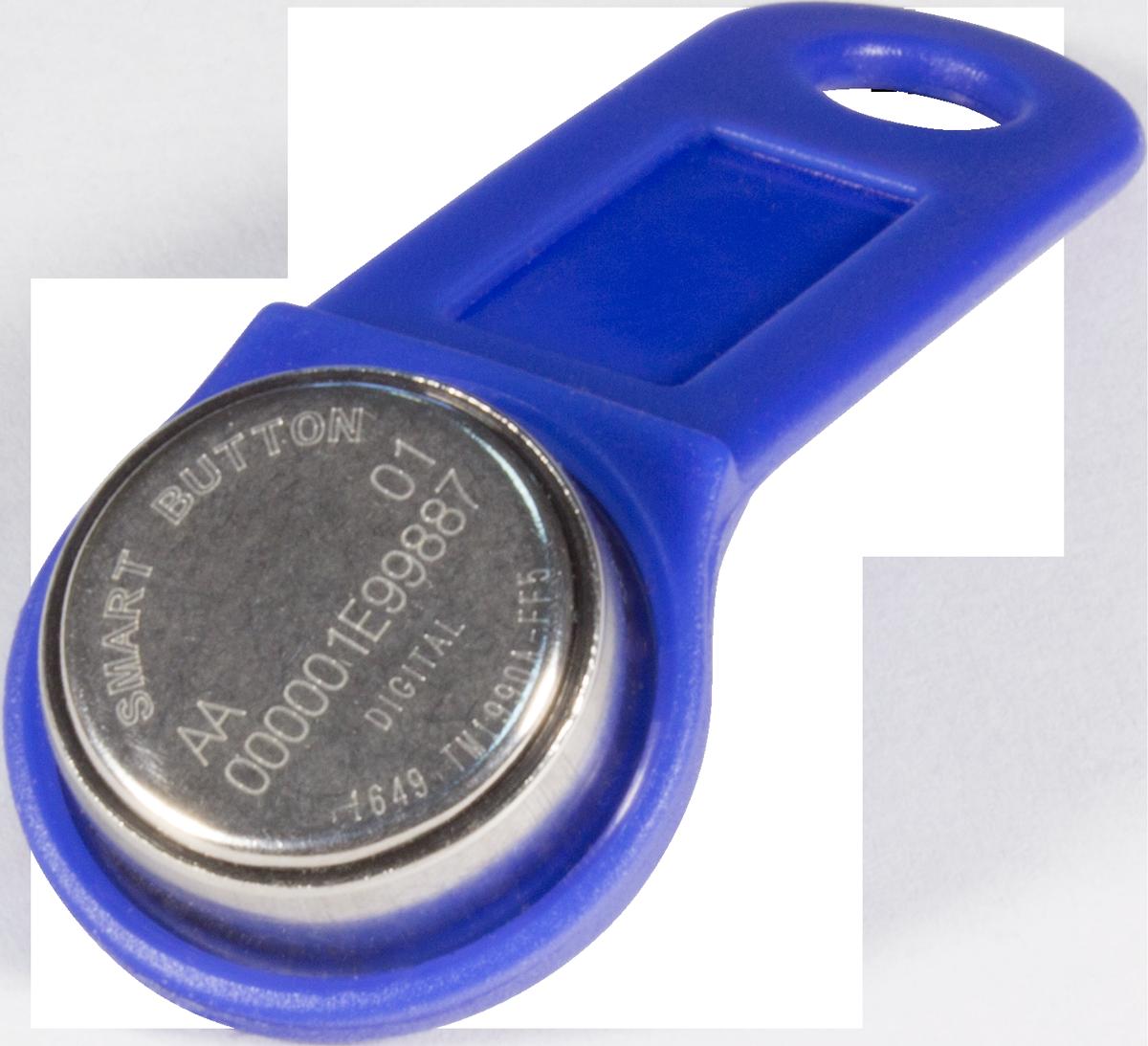 Ключ Touch Memory TM1990A iButton TS (синий)
