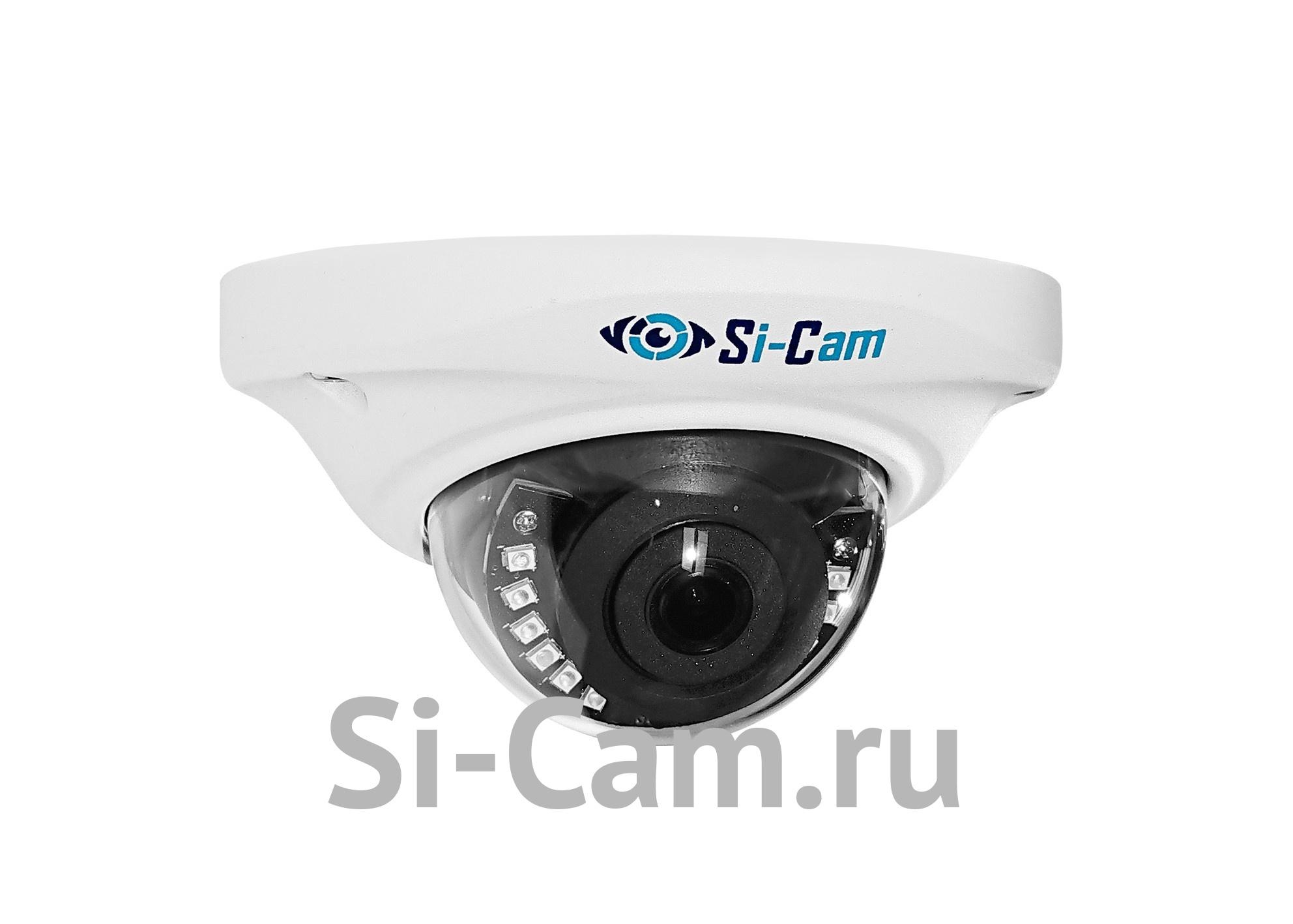 SC-DSW206F IR Купольная уличная антивандальная IP видеокамера