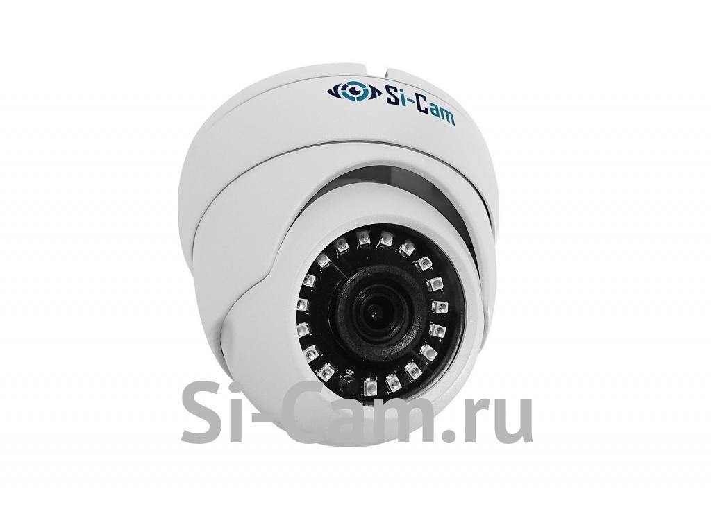 SC-202FM64 IR Купольная уличная антивандальная IP видеокамера, ВСЕ ВКЛЮЧЕНО