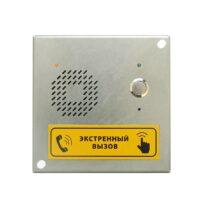 Вызывная аудиопанель DP1-UF8 (исп. крышка коробки проходной)