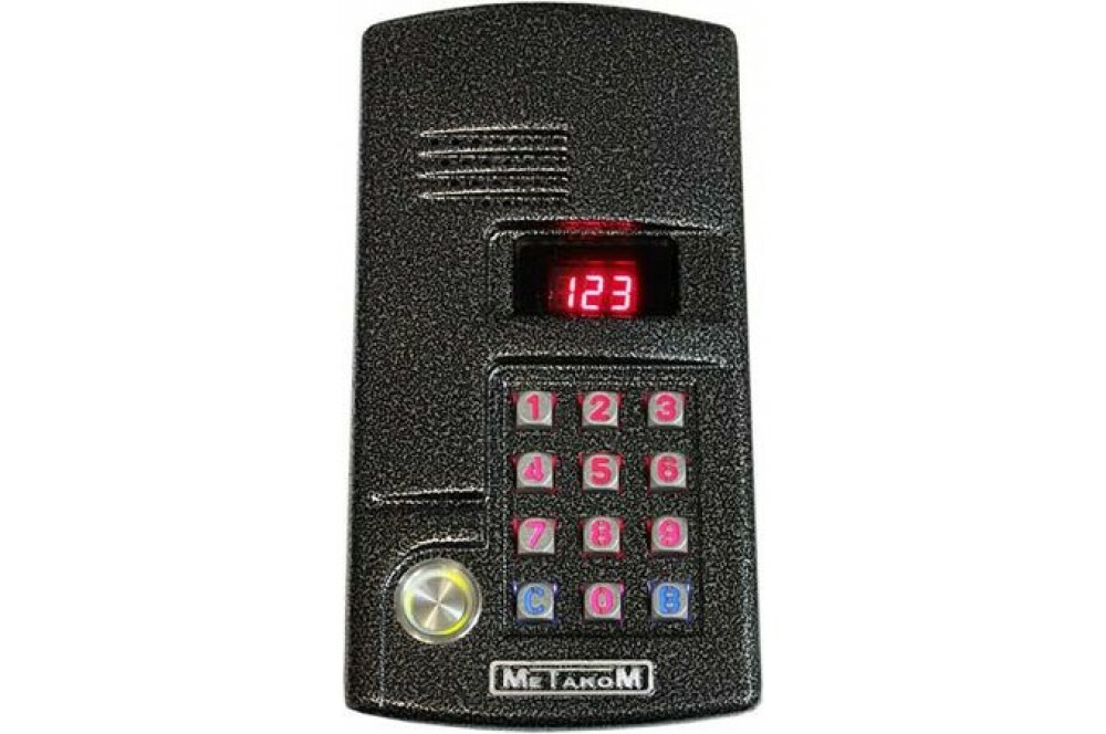 Вызывная аудиопанель MK2003.2-TM4EN Блок вызова аудио